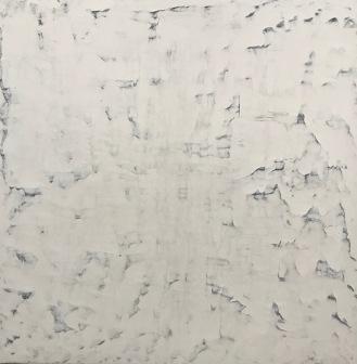 "Niflheim, fresco on panel, 36x36"""