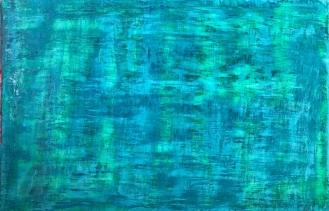Homeostasis, fresco on panel, 2018