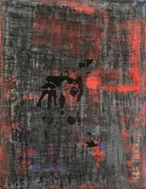 """Keyhole 2, fresco on panel, 18x14"""""""
