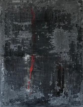 Modern Suffering, fresco on panel, 2018