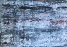 Radiance, fresco on panel, 2018
