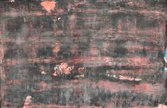 Synergy, fresco on panel, 2018