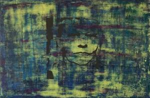 """Resist, fresco on panel, 24x36"""""""